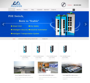 Acuvos Technology POE Switch Manufacturer